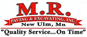 M.R. Paving & Excavating Logo
